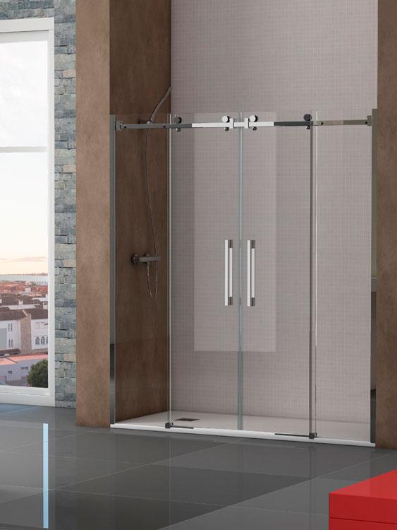 Mamparas de ducha cristal duchas ecol gicas precios for Mamparas ducha barcelona