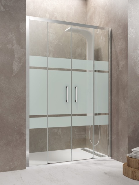 Mamparas de ducha cristal duchas ecol gicas precios - Mamparas sin perfiles ...
